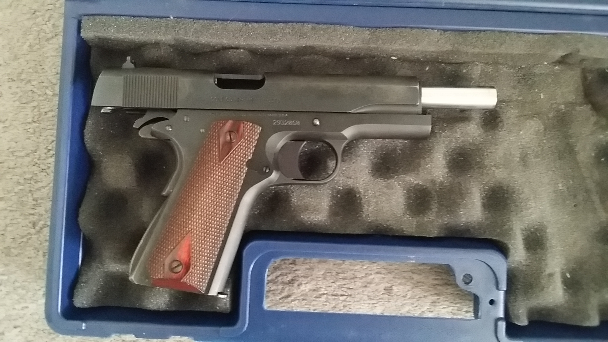 Sold - Colt 1991 1911 Government Model 0 45 ACP   Carolina Shooters Club