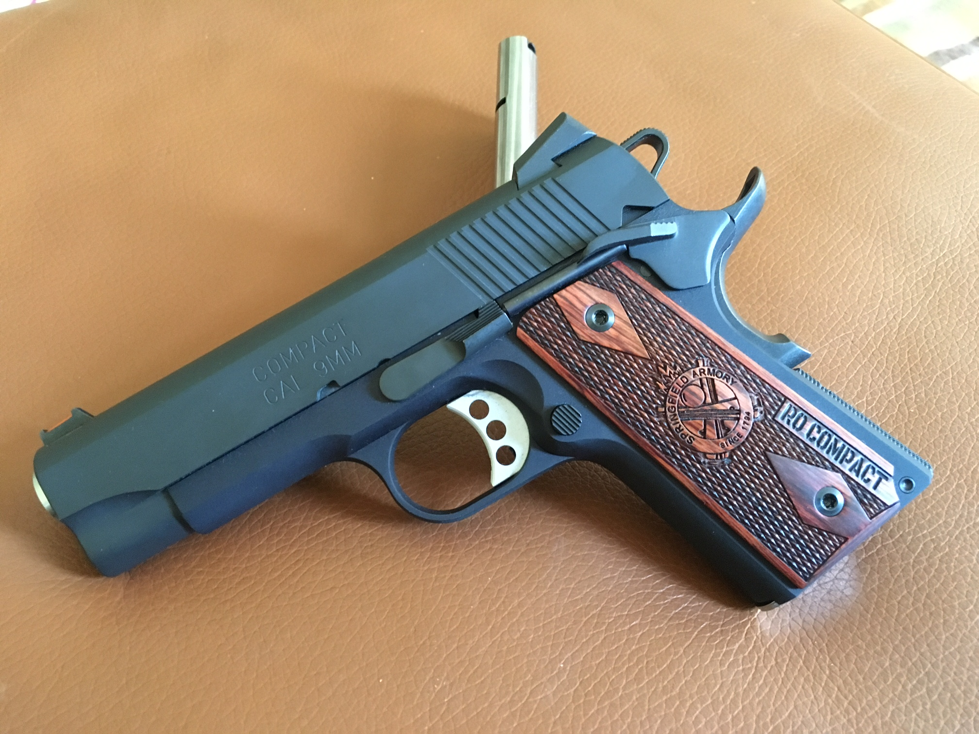 Sold - FS/FT - Springfield RO Compact 1911 in 9mm | Carolina