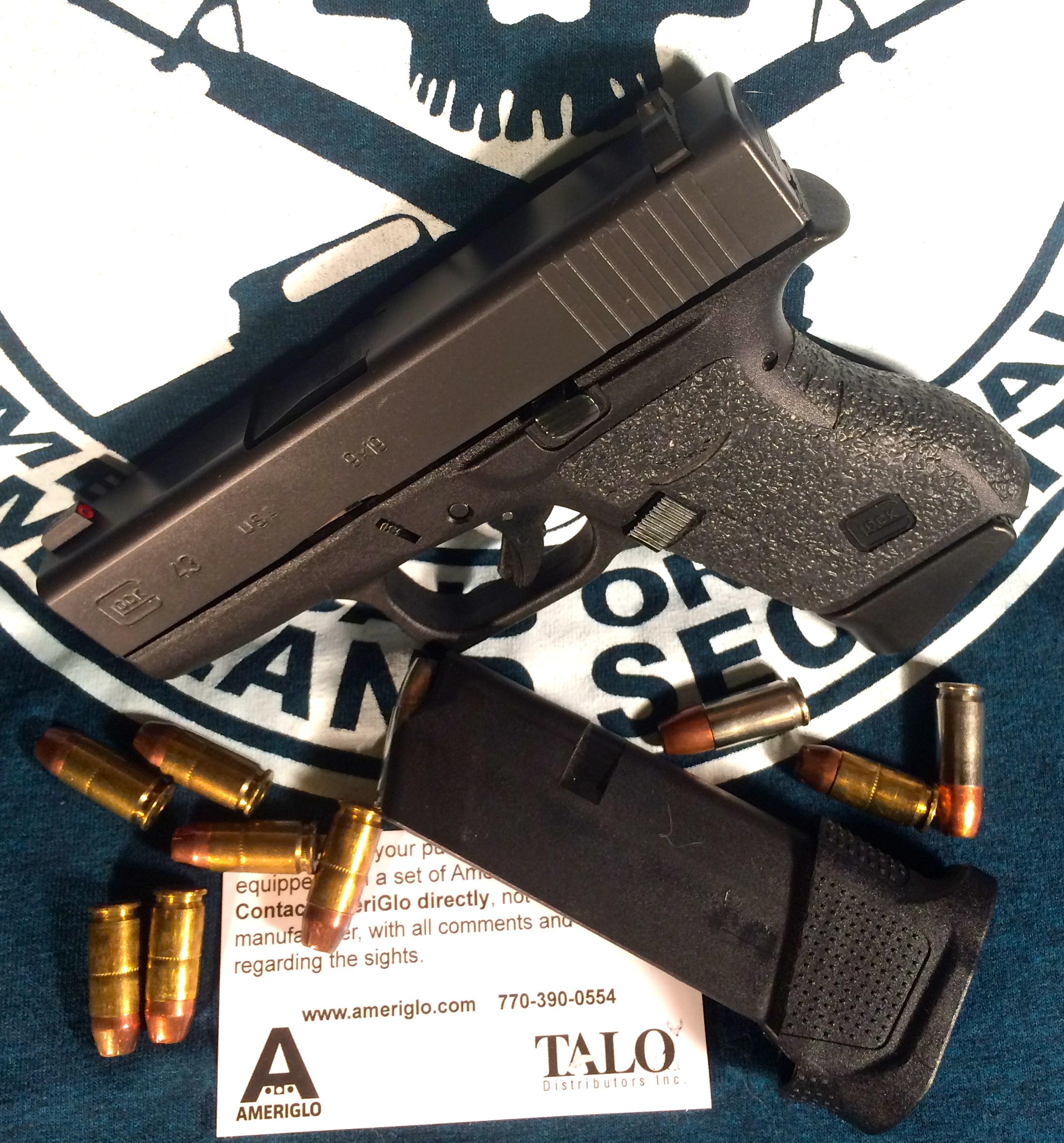 sold glock 43 talo edition with ghost trigger kit carolina